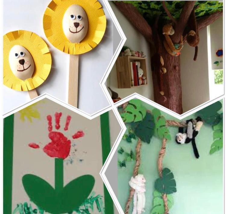 Lions in the Garden craft friday